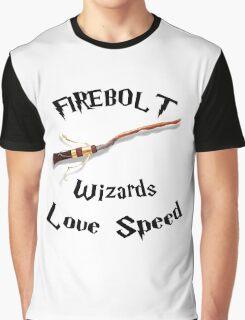 Harry Potter - Firebolt Graphic T-Shirt