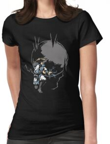 Raiden's Lost Ark Womens Fitted T-Shirt
