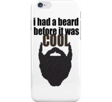 Cool beard iPhone Case/Skin