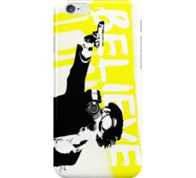 Believe In Sherlock (GasMask ReDux) for iPhone 5 iPhone Case/Skin
