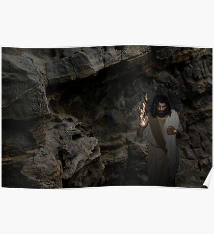 Jesus - I am the Resurrection and the Life Poster