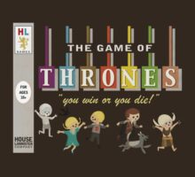 The Game of Thrones Family Board Game by Wetasaurus