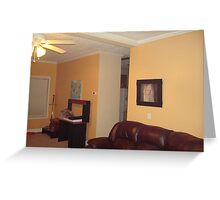 Livingroom Prized Collections Greeting Card