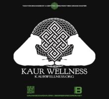 KAUR WELLNESS KAURWELLNESS.ORG OFFICIAL MERCH 11 QR Kids Clothes