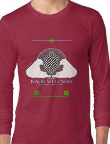 KAUR WELLNESS KAURWELLNESS.ORG OFFICIAL MERCH 11 QR Long Sleeve T-Shirt