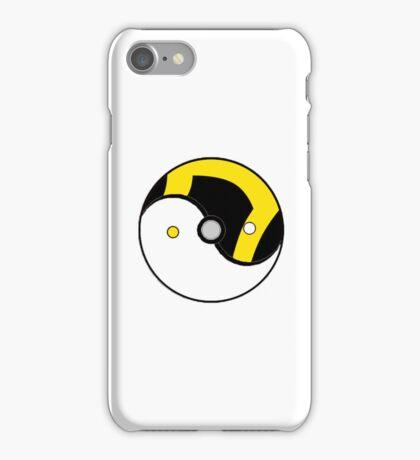 Ultra Ball Yin and Yang iPhone Case/Skin