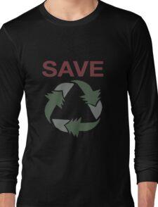Save Long Sleeve T-Shirt
