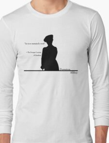 Lie is so unmusical a word Long Sleeve T-Shirt