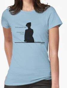 Lie is so unmusical a word Womens Fitted T-Shirt