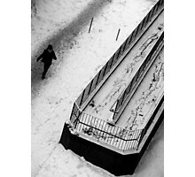 Attack of winter Photographic Print