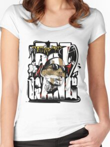 Kid Ink  - Bat Gang Women's Fitted Scoop T-Shirt