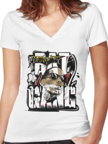 Kid Ink  - Bat Gang Women's Fitted V-Neck T-Shirt