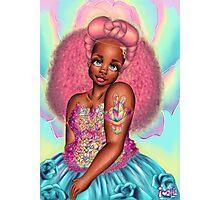Druzy Princess Photographic Print