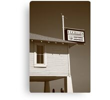 Route 66 - Lucille's Gas Station Canvas Print