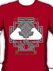 KAUR WELLNESS KAURWELLNESS.ORG OFFICIAL MERCH 22-2 QR T-Shirt