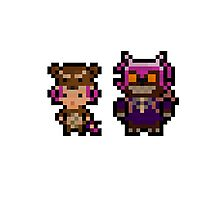Pixel Reverse Annie (and Tibbers) Photographic Print