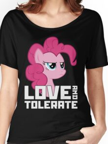 Pinkie Pie - Love And Tolerate Women's Relaxed Fit T-Shirt