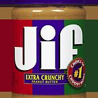 JIF peanut butter by Alex Magnus