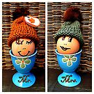 Mr. & Mrs. Egghead by ©The Creative  Minds