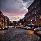 Cobblestone at Dusk by Jamie Lee
