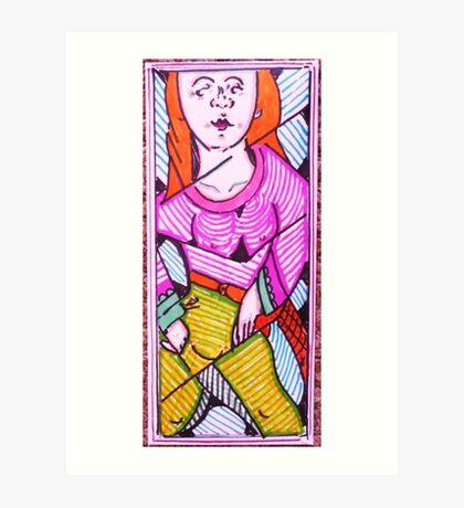 letter to lynda Art Print
