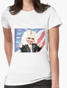 Chucky's Girl Womens Fitted T-Shirt