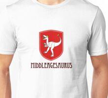 dinosaur T-Rex middle ages medieval  Unisex T-Shirt