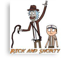 Rick and Shorty Canvas Print