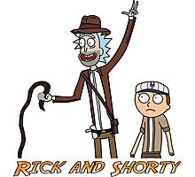Rick and Shorty Photographic Print