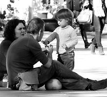 A Precious Candid Moment ... by Berns