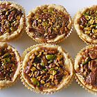 PEACAN/PISTACHIOS TARTS by gracestout2007