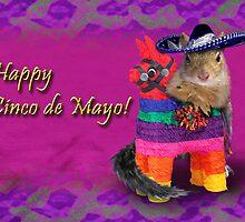 Cinco de Mayo Squirrel by jkartlife