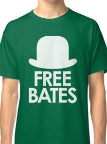 Free Bates white design Classic T-Shirt