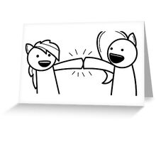 ASDF PONY Greeting Card