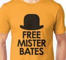 Free Mister Bates black design Unisex T-Shirt