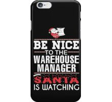 Warehouse Manager iPhone Case/Skin