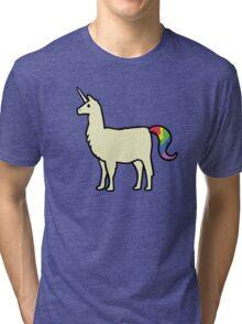 Llamacorn Tri-blend T-Shirt