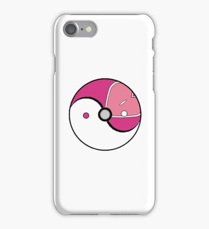 Love Ball Yin and Yang iPhone Case/Skin