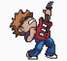 Pixel Guitarist Kids Clothes