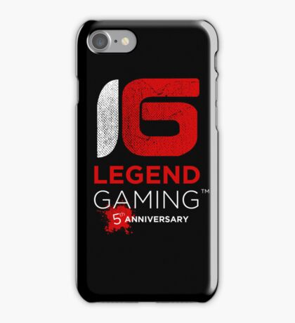 LG 5yr anniversary iPhone Case/Skin