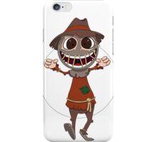 Scarecrow surprises everyone iPhone Case/Skin