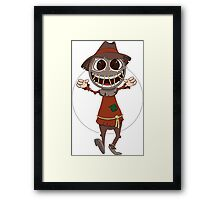 Scarecrow surprises everyone Framed Print