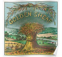 Golden Sheaf cigar label Poster
