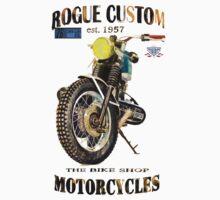 Rogue Custom Motorcycles BMW Scrambler by JohnLowerson