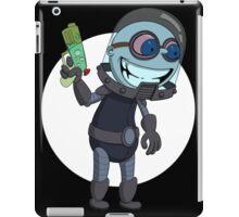 Mr Freeze heats things up iPad Case/Skin