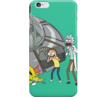 Rick and Morty Crash Gag iPhone Case/Skin