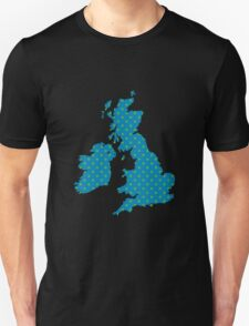British Isles Wallpaper T-Shirt