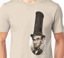 President Abe Lincoln Caricature Unisex T-Shirt