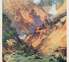 Yellowstone Park, 1934 by Bridgeman Art Library