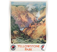 Yellowstone Park, 1934 Poster